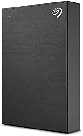 Seagate Backup Plus 5TB External Hard Drive Portable HDD – Black USB 3.0 for PC Laptop and Mac, 1 year MylioCreate, 2 Months Adobe CC Photography (STHP5000400)