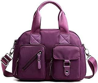 TOOGOO New Ladies Handbag Ladies Shoulder Messenger Bag Fashion Wild Waterproof Oxford Beach Handbag Pink