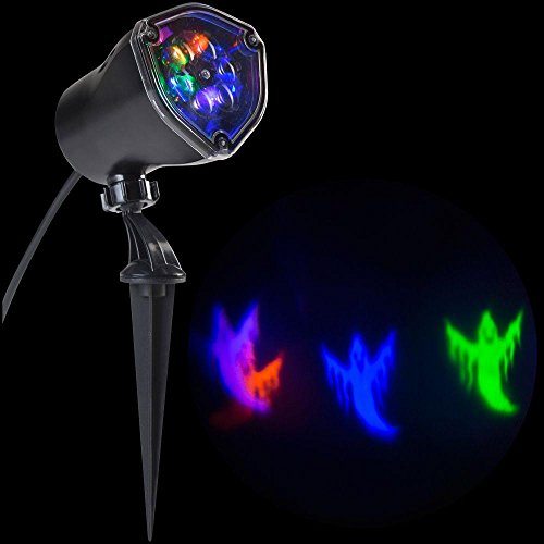 Multi Color Moving Ghost Light Show Halloween Projector