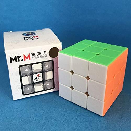 Cubo Mágico 3x3x3 Shengshou Mr. M Magnético - Cubo Store