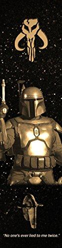 Jango Fett Star Wars Bookograph Metal Bookmark