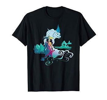 Disney Raya and the Last Dragon Watercolor T-Shirt
