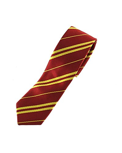 Zac's Alter Ego® Wizards Tie For Fancy Dress, School Uniform, World Book Day (Burgandy)