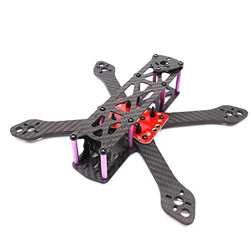 Shumo 5 Pollici In Fibra di Carbonio Drone Telaio 220mm Interasse per RC Drone FPV Accessori