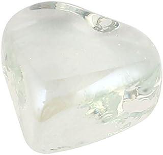 eDealMax La Forma del corazón cristales acuario de Goldfish Bowl de Bolas de Piedra decoración Claro
