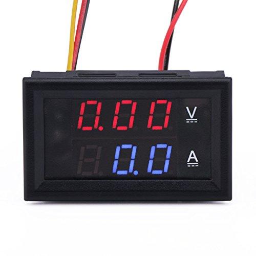 DROK 100016 24V to 12V DC Converter, Adjustable Buck Converter 7-40V to 1.2-35V CC CV Step Down Volt Regulator Constant Current 8A LED Driver Charge Module with Charging Indicator Solar Power Supply