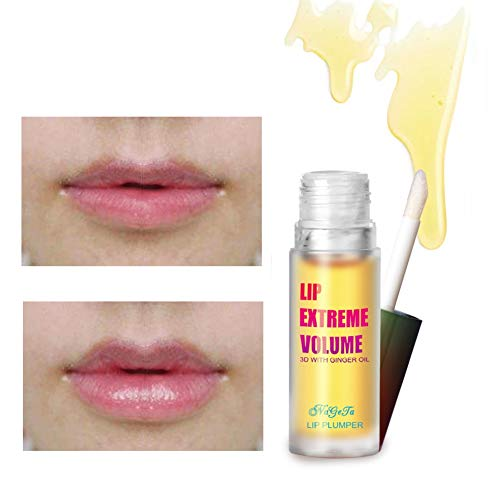 Ofanyia Lip Plumper Lipgloss Lip Extreme Volume Lip Maximizer Flüssiger Lippenstift Lippenpflege Größere Lippen Make-up Lipgloss