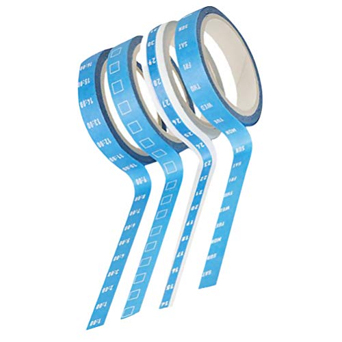 Checklist Washi Masking Tape Daily Weekly Days of the Week Washi Tape Memo Date Washi Tape To Do List Calendar Weather Day Plan
