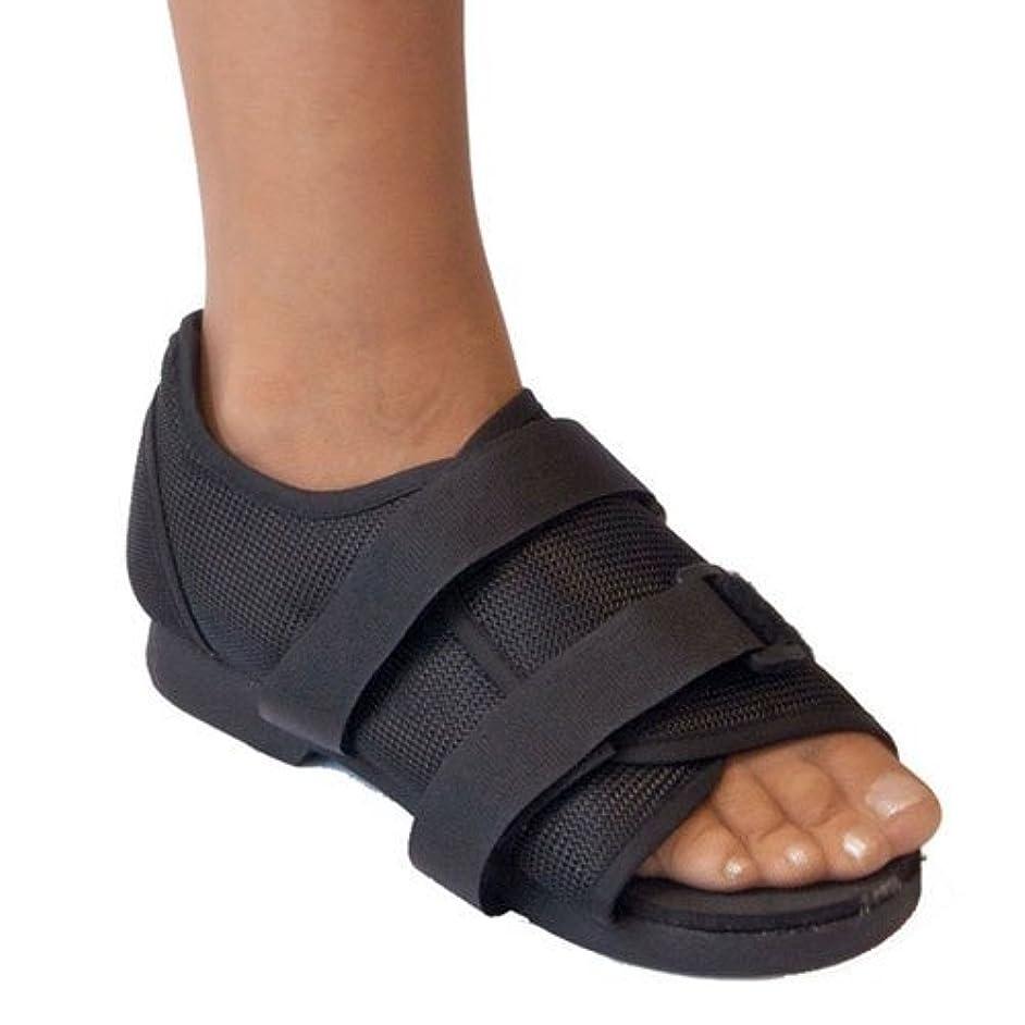 急勾配のサラダ忍耐術後靴、メディカルウォーキング、骨折した骨の耐久性のあるつま先整形外科サポートブレース。,M