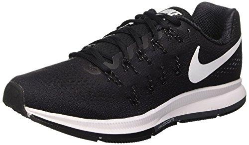 Nike Herren Air Zoom Pegasus 33 neutral Laufschuhe, Negro (Black / White-Anthracite-Cl Grey), 46 EU