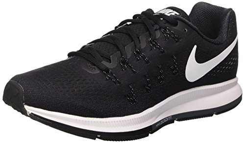 Nike Men's Air Zoom Pegasus 33, Black/White/Anthracite/Cool Grey - 9.5 D(M) US