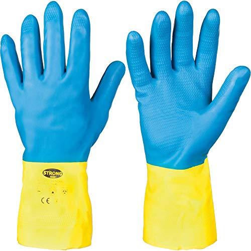 Chemie Schutzhandschuhe 12 Paar Pack - Gr. 10 (XL)