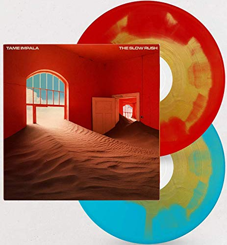 The Slow Rush - Exclusive Limited Edition Red With Gold & Light Blue With Gold Colored 180 Gram 2x Vinyl LP