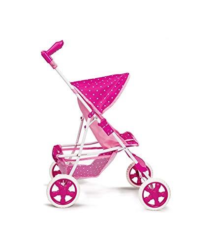 TradeShop - Passeggino Amore Mio Urban Carrozzina per Bambole Giocattolo Bambini Pieghevole - 30915
