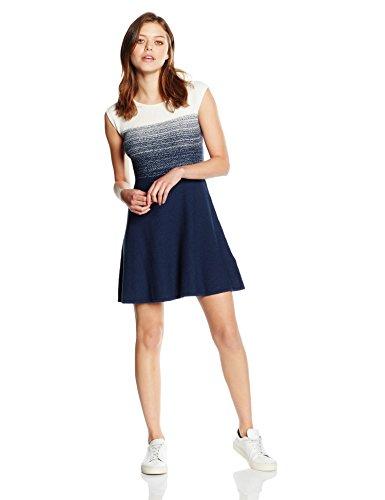 BOSS Orange Damen Kleid Inabelle, Blau (Dark Blue 407), 42 (Herstellergröße: XL)
