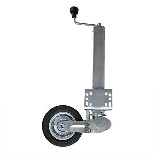 APT Anhänger Stützrad klappbar 60x60mm eckig schwerlast 400kg Bugrad Wohnwagen