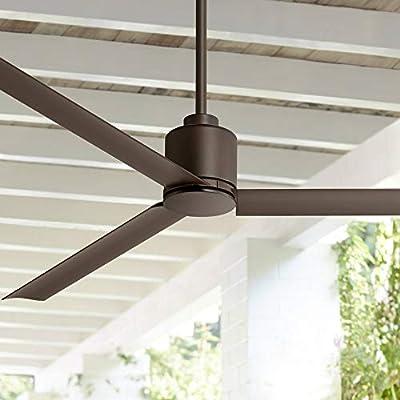 """60"""" Status Bronze Damp Ceiling Fan"""