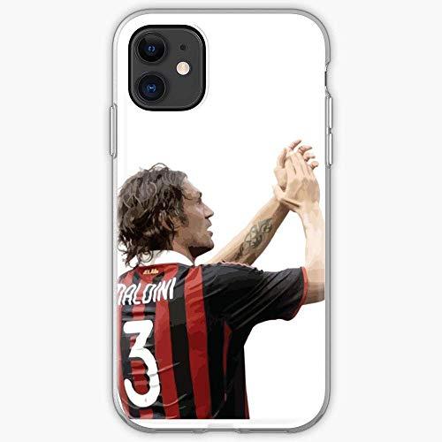TIINTEXBA Compatible with iPhone 12/12 PRO Max 12 Mini 11 PRO Max SE X XS Max XR 8 7 6 6s Plus Case Italia Kite Italy Milan AC Paolo Manchester United Maldini Phone Cases Cover