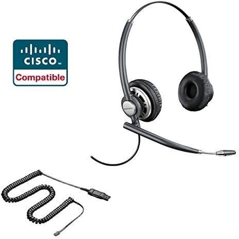 Cisco Compatible Plantronics EncorePro 720 HW720 Noise Canceling Direct Connect VoIP Headset product image
