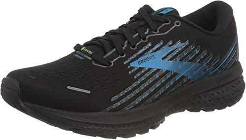 Brooks Herren Ghost 13 GTX Laufschuh, Black Grey Blue, 42.5 EU