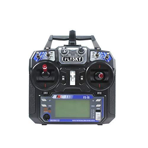 Flysky FS-i6 6CH 2.4G AFHDS 2A Sistema de Radio transmisor LCD para helicóptero RC Quadcopter DIY Modo Drone2