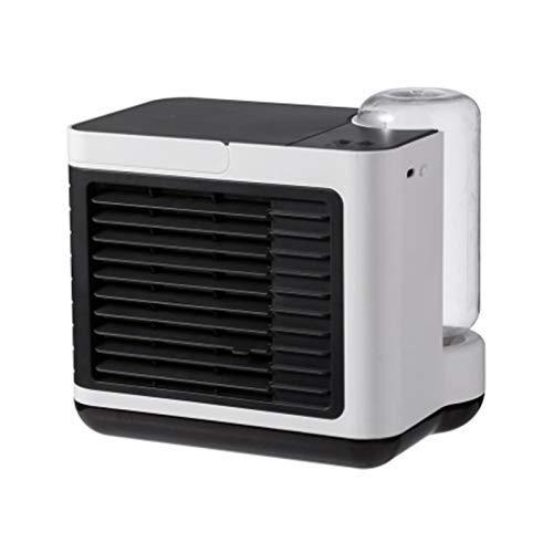 JINKEBIN Ventilatore USB Portatile Condizionatore D'aria Condizionata Silenzioso Umidificatore Purificatore USB Desktop Air Cooler Fan Compatibile con Auto Casa Ufficio