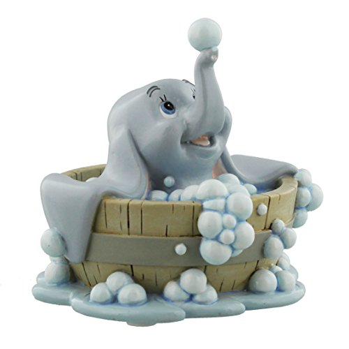Disney Classics Dumbo In Bath Figurine Boxed New by ukgiftstoreonline