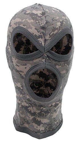 MFH MFH 3-Loch Balaclava Dünn Baumwolle Sturmhaube Maske Skimaske Sturmmaske viele Farben (at Digital)