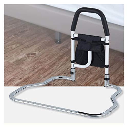 GHHZZQ Barandillas de Cama Altura Ajustable Antideslizante pasamaneria con Bolsa de Almacenamiento Capacidad de Carga 130kg para Anciano Mujer Embarazada Usar En Varios Tipos de Camas