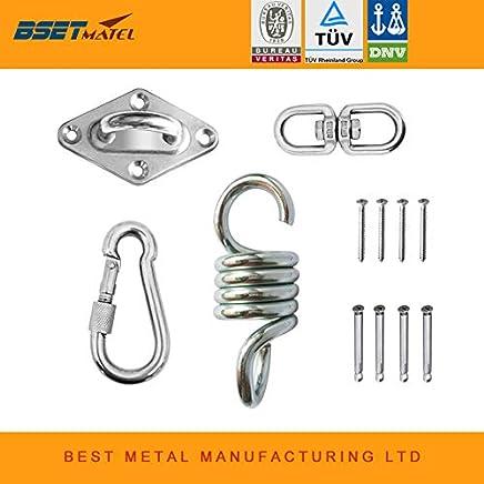 elastisches Verbindungsst/ück Ochoos 20 St/ück M4//M5//M6 20//25//30//35//40//50//60//70 mm Karton Stahl mit Zinkplatte U-Form offen