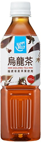 Amazon Happy-Belly 烏龍茶 500ml×24本