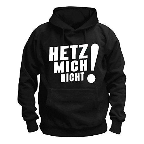 Sascha Grammel - Hetz Mich Nicht! - Kapuzenpullover/Hoodie Größe M