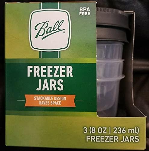 Ball Freezer Jars 8 oz Half Pint 3pk