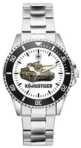 KIESENBERG Uhr - Soldat Geschenk Bundeswehr Artikel Panzer Königstiger 1090