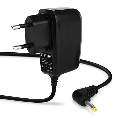 CELLONIC Cargador 1,20m, 1A Compatible con Sony PSP-1000/1004 / 2000/2004 / 3000/3004 / E1000 / E1004, 5V 4.0mm x 1.7mm Cable de Carga