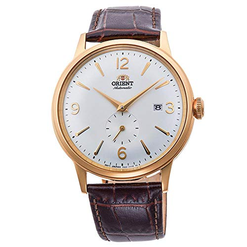 Orient Reloj Analógico para Hombre de Automático con Correa en Cuero RA-AP0004S10B