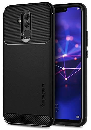 Spigen, Funda Compatible con Huawei Mate 20 Lite [Liquid Crystal] Protección Delgada de Gel Silicona y claridad Premium de TPU [Compatible con Carga Inalámbrica] - [Transparente]