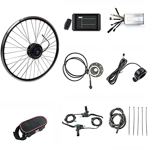 SKYWPOJU 48V 1000W 20' 24' 26' 27.5' 28' 29er 700C Rueda trasera Bicicleta eléctrica Kit de conversión de bicicleta eléctrica Motocicleta trasera Kit de motor de conversión de bicicleta eléctrica Bici
