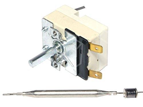 EGO 55.13034.120 Thermostat für Fritteuse MKN 2020302A01, 2020301A01, 2020301C01 max. Temperatur 190°C 1-polig Fühler ø 6x87mm