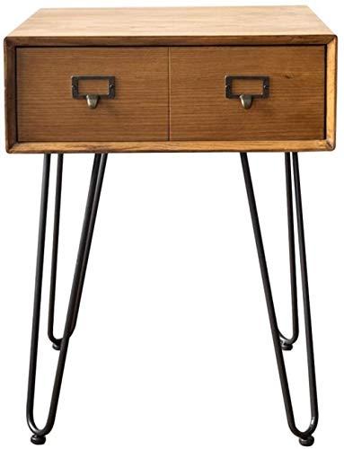 File cabinets Nachtschränken Massivholz-Nachttisch, Wohnraum-Lagerschränke mit Schublade Schubläden