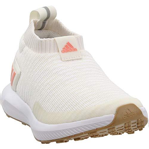 adidas Niños Niños RapidaRun Laceless Knit Sneakers Zapatos Casual - Blanco, blanco (Clowhi, Chacor, Ftwwht.), 32
