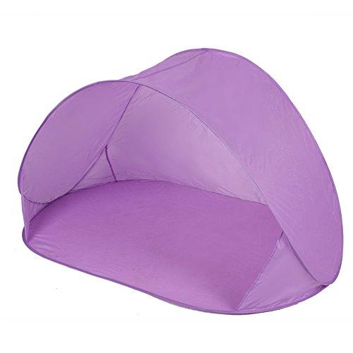 Creative Tente d'extérieur Easy up sun-shelter de pêche/plage/légère, Violet