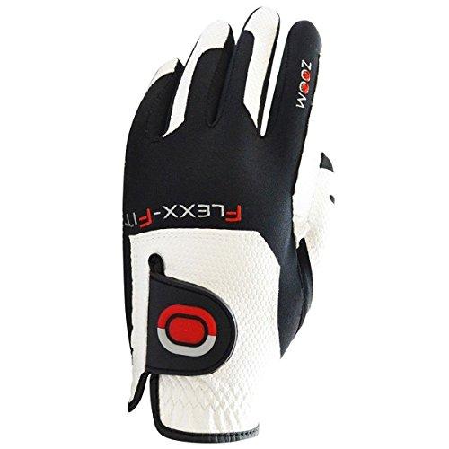 Zoom Damen Grip Golf-Handschuh - Weiß/Schwarz/Rot - Einheitsgröße