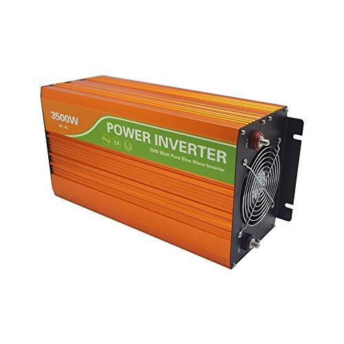 ECO-WORTHY 3500W 48V Pure Sine Wave Inverter Off Grid Solar Piwer Inverter Battery Converter for RV Camping House Inverter Solar Power System Kit