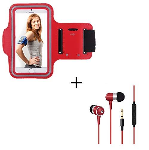 Shot Case Sportarmband für Samsung Galaxy Trend 2 Lite, Rot