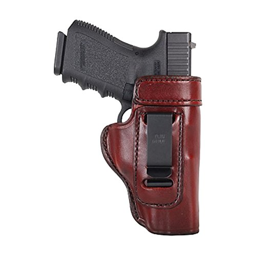 Don Hume H715-M Waistband Clip-On Conceal Carry Holster, Colt Officers Model, Right Hand, J168022R