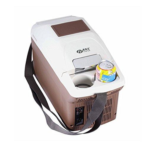 L@LILI Auto Kühlschrank Auto Dual-Use-tragbare Halbleiter Heizung und Kühlbox Mini Haushalt Kühlung Heizung Medizin Gefrierschrank 9L Autozubehör Kühlschränke,caranddualpurpose