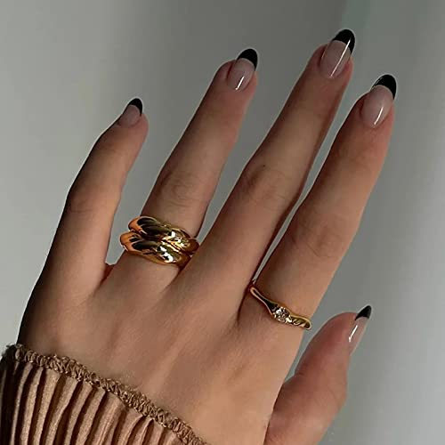 Kamize Fake Nails Medium Lenght French Press on...