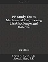 PE Study Exam: Mechanical Engineering: Machine Design and Materials