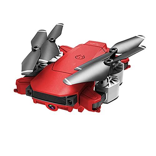 WECDS Drone RC con videocamera HD 4K Live Video, Quadricottero WiFi con sensore di gravità, modalità Senza Testa, Flip 3D, Un Tasto di decollo/atterraggio Rosso